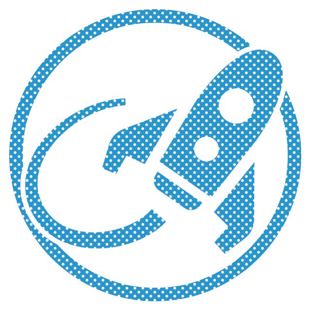 Webサイト高速化、読み込みスピード改善サイトの制作の水色のイメージアイコン