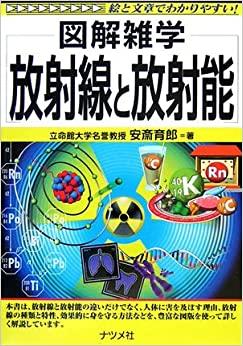 書籍放射線と放射能(安斎 育郎/ナツメ社)」の表紙画像