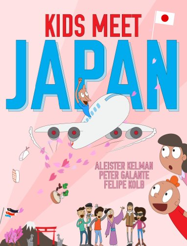 書籍Kids Meet Japan(Peter Galante (著), Felipe Kolb (イラスト) /mazon Services International, Inc.)」の表紙画像