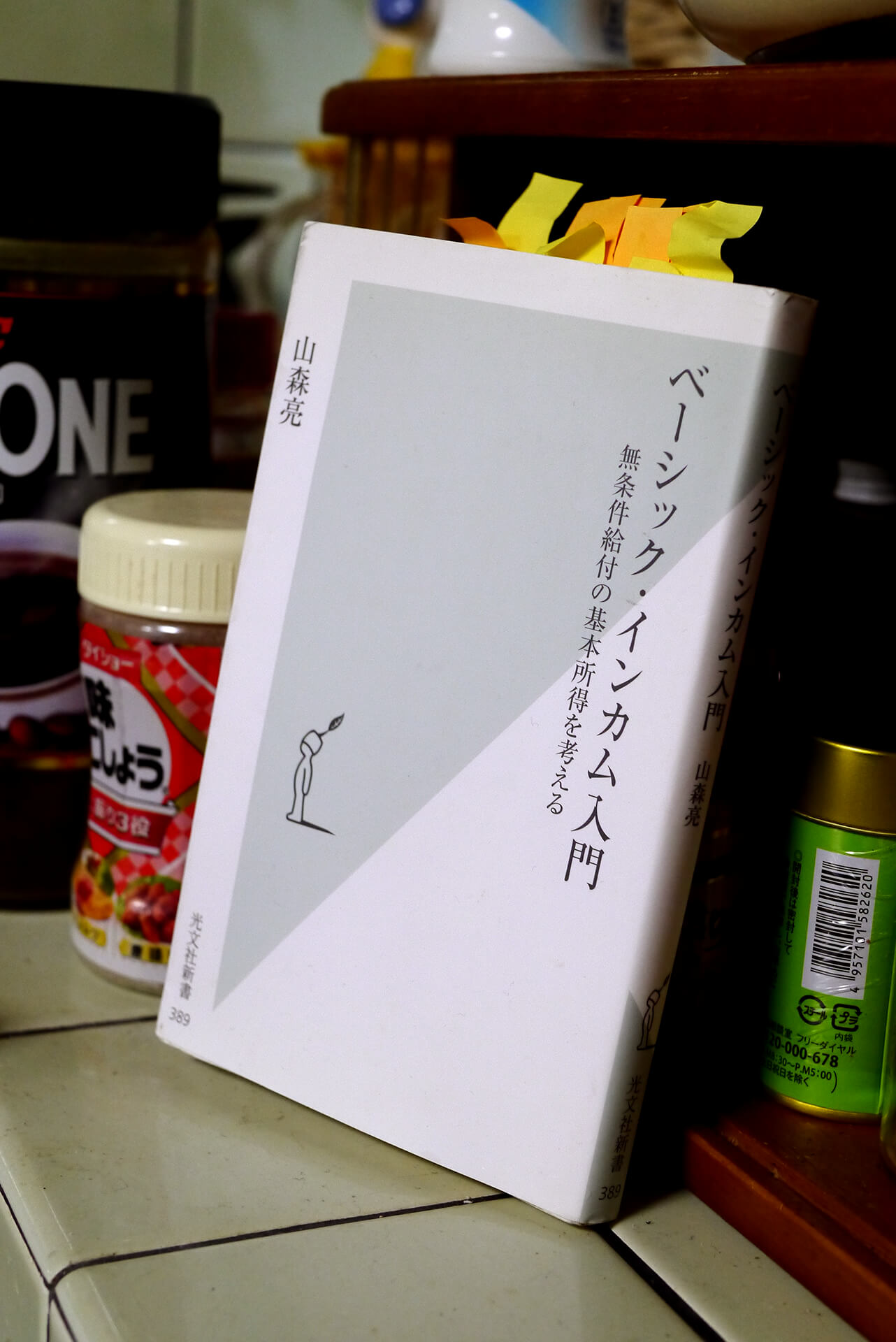 書籍ベーシック・インカム入門(山森亮/光文社)」の表紙画像