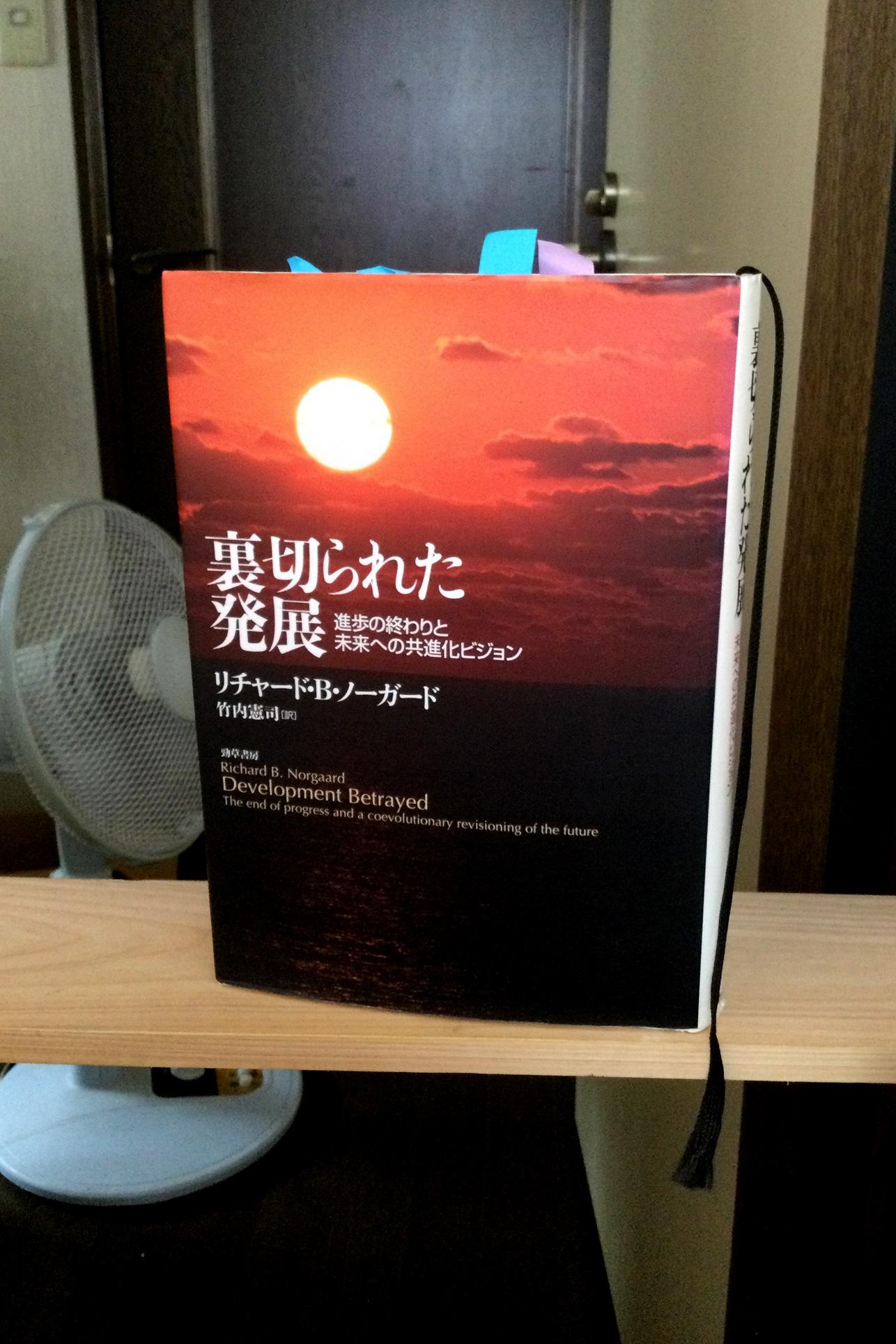 書籍裏切られた発展―進歩の終わりと未来への共進化ビジョン(リチャード・B. ノーガード  (著), Richard B. Norgaard (原著), 竹内 憲司 (翻訳)/勁草書房)」の表紙画像